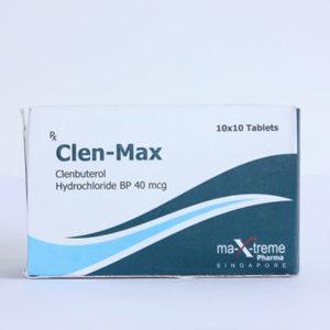 Acquistare Clenbuterol hydrochloride (Clen) - Clen-Max Prezzo in Italia