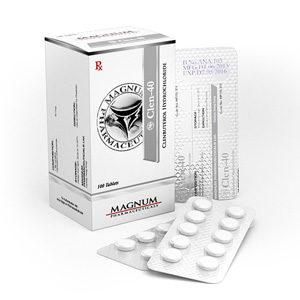 Acquistare Clenbuterol hydrochloride (Clen) - Magnum Clen-40 Prezzo in Italia