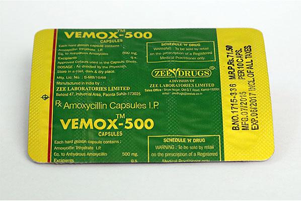 Acquistare amoxicillina - Vemox 500 Prezzo in Italia